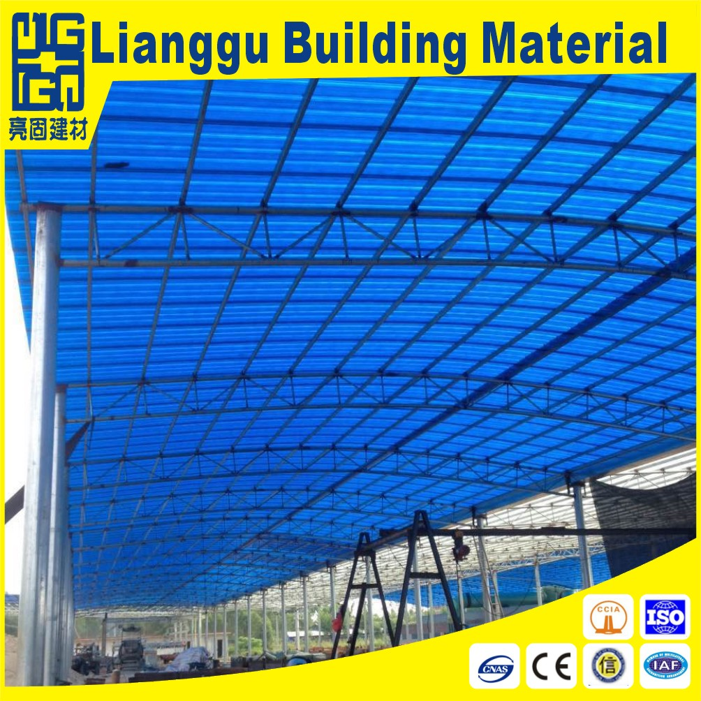 New type excellent loadability GRP/FRP/Fiberglass transparent/translucent roofing sheet for greenhou