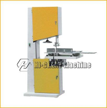 Semi auto jumbo roll Saw slitting machine log Saw cutting machine