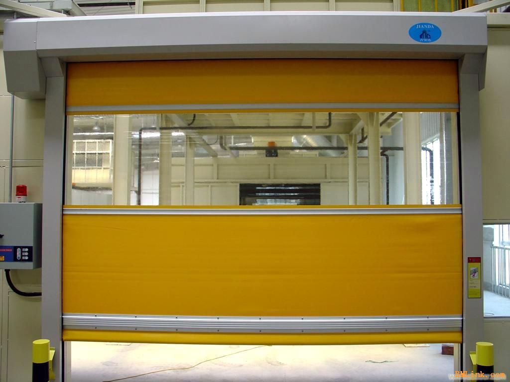 Clean Room Automatic Plastic Fast Rolling Shutter, High speed door