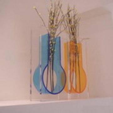 acrylic vase, flower vase