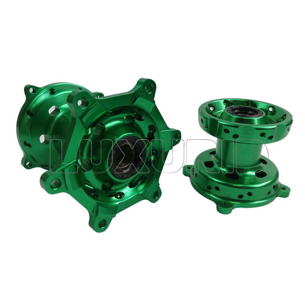 Motorcycle CNC billet wheel hubs for KX125 KX250