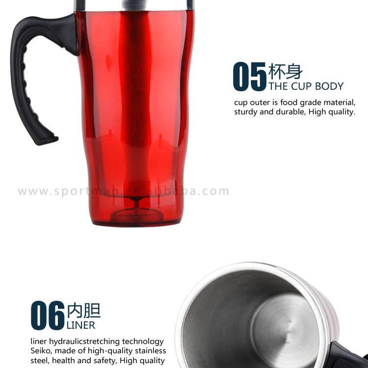Custom Plastic Beer Mug Coffee Mug Travel Mug hot selling