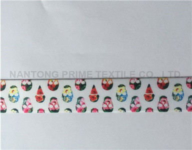 Printed Elasticwholesale fold over elastic custom elastic bands underwear