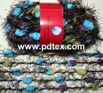 0.35nm 100%polyester hand knitting yarn , Yarn
