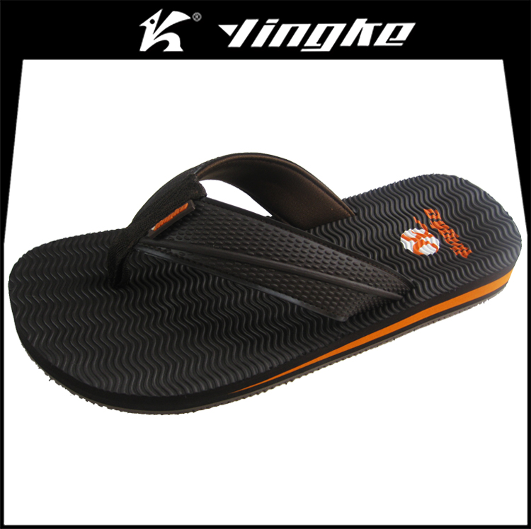 Fancy cheap men thong sandals thin sole beach designer flip flops