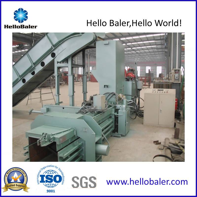 Semi-Automatic Hydraulic Cardboard Baling Machine with CE Certificate (Hsa4-6)