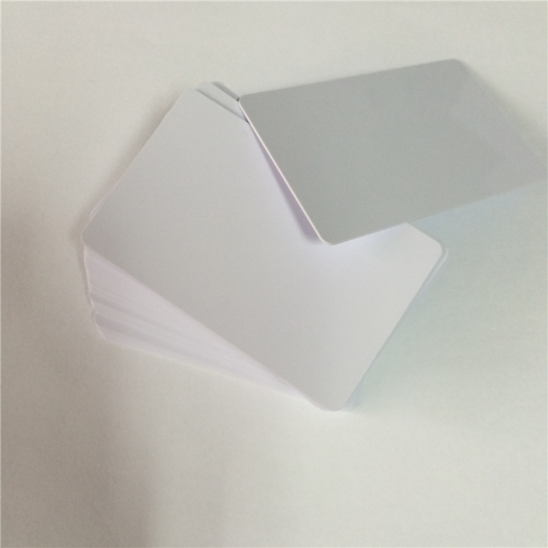 PVC Smart RFID IC Blank White Card with S50 Chip For Epson /Canon Inkjet Printer