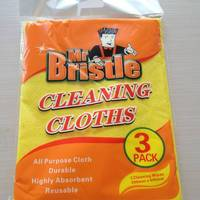 needle  punched  cleaning  wipes