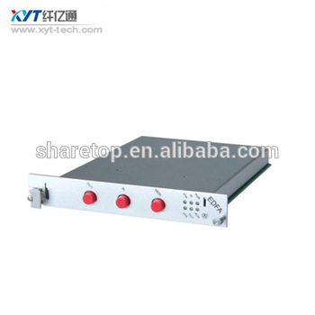 power Amplifier wavelength 1535-1565nm plug-in card type/interface card EDFA Amplifier Gain 25dB out