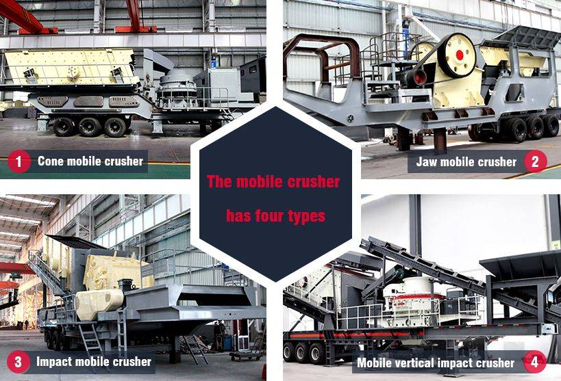Mobile Crusher for Sale/Mobile Crushing Plant/Mobile Stone Crusher