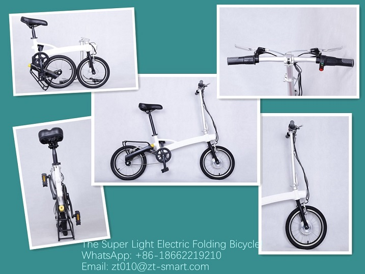 Customized folding electric bicycle E-bike ZT electric bike