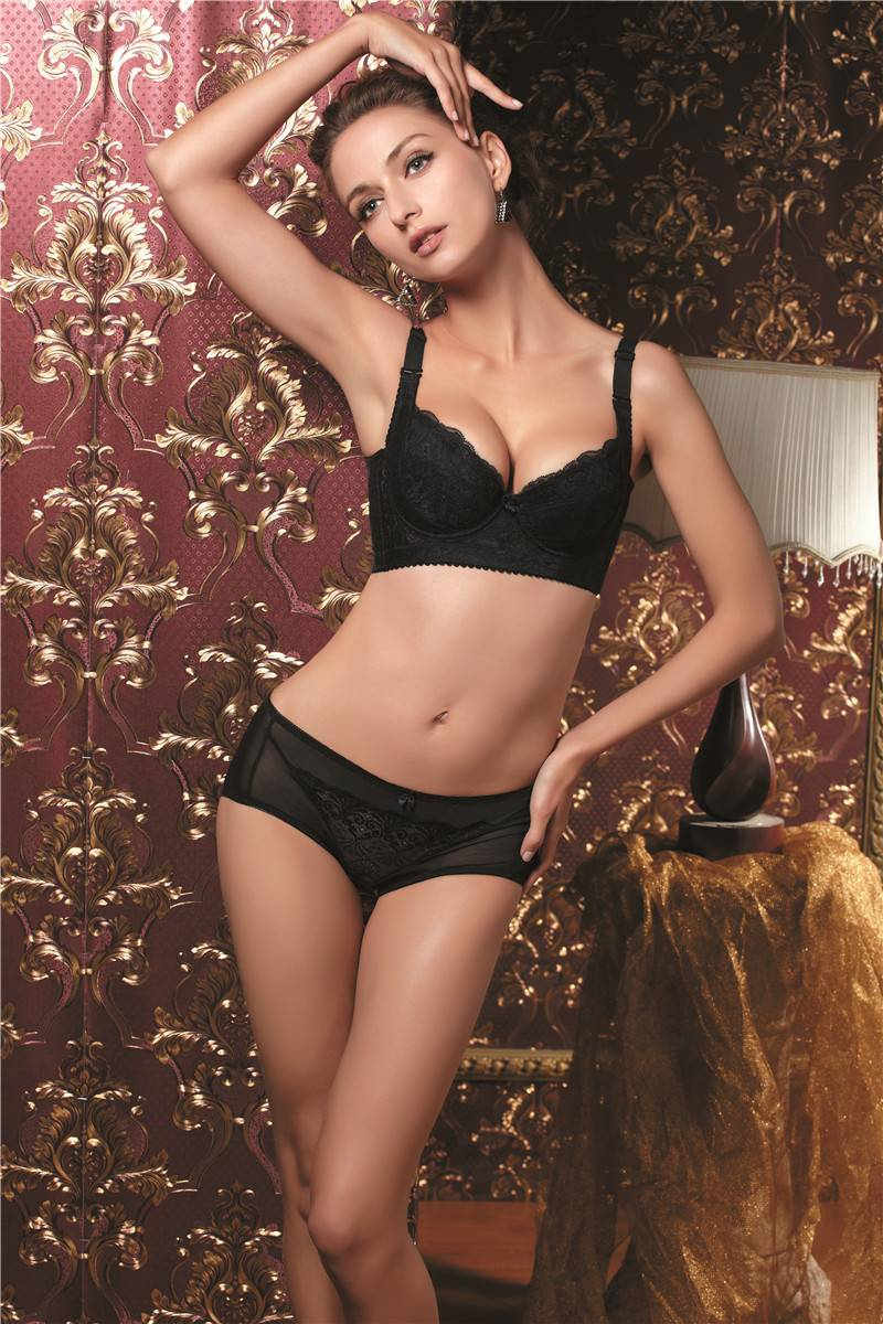 Magnetotherapy sexy fashion ajustable  bra and brief sets