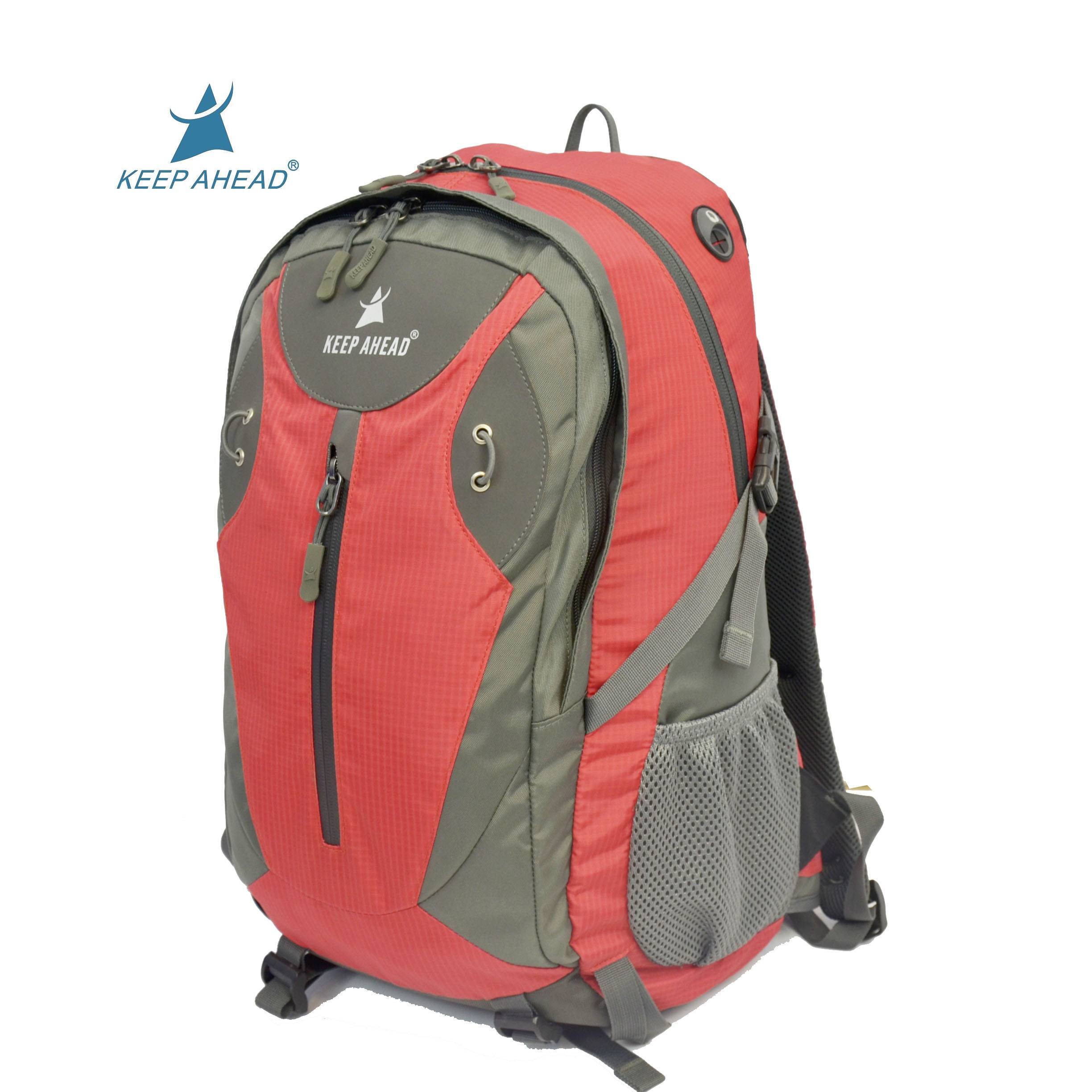 Light weight outdoor sport backpack factory nylon waterproof traveling backpack