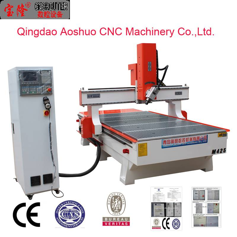 Qingdao new style hot sale chinese supplier 3D cnc router with servo motor