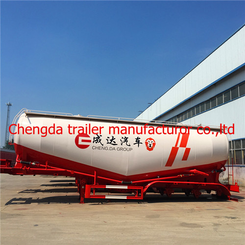 New 40CBM /45CBM 3AXLE truck trailer for powder and particle transportation cement trailer