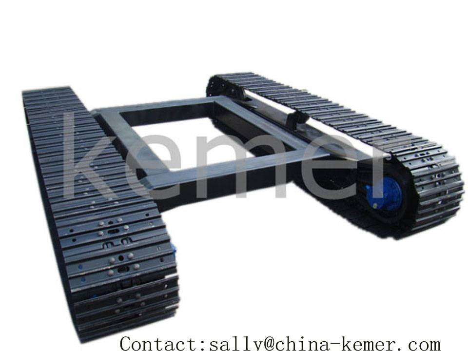 Crawler Tracks Steel Track Undercarriage, Coal Drill Crawler Chassis, Anchor Drill Crawler Undercarr
