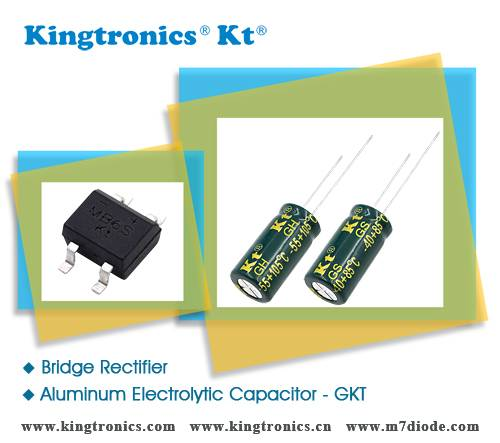 Kt Kingtronics Bottom Price for Bridge and Capacitor From ISO Factory
