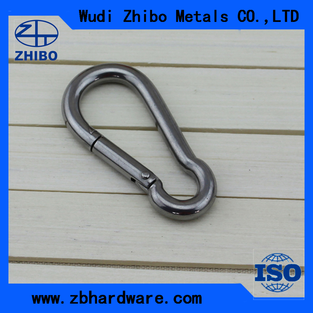 High quality custom stainless steel carabiner snap hook