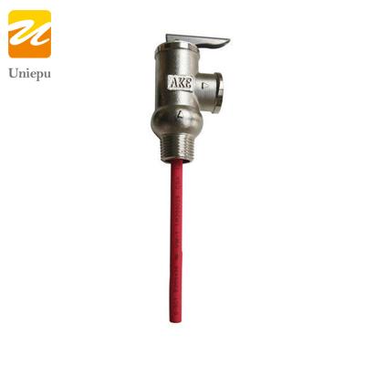 Solar Water Heater Pressure Temperature Valve