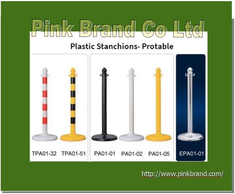 Crowd Controls/ Plastic Stanchions-PE material
