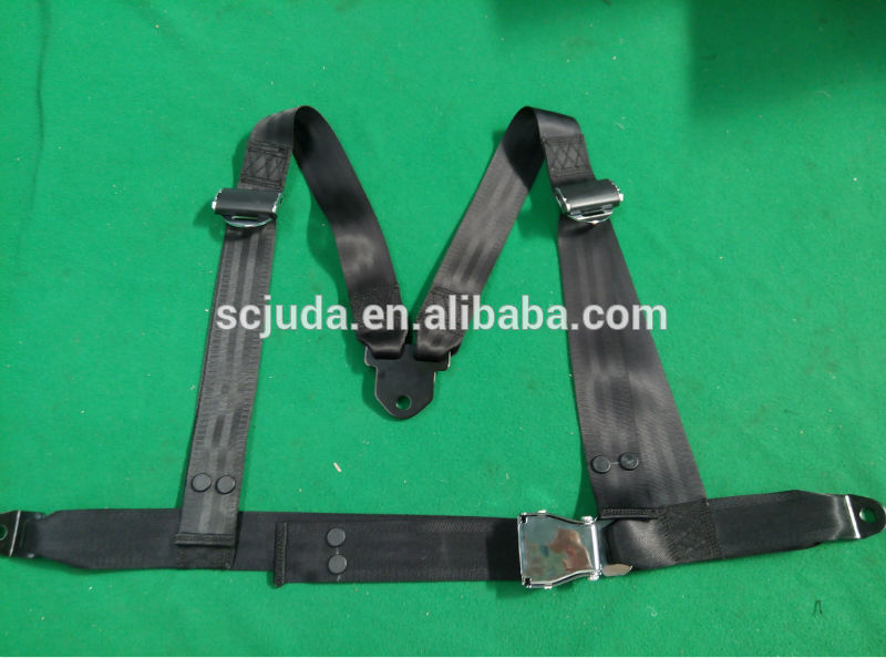 heavy duty adult pedal go kart 4-point safety belt