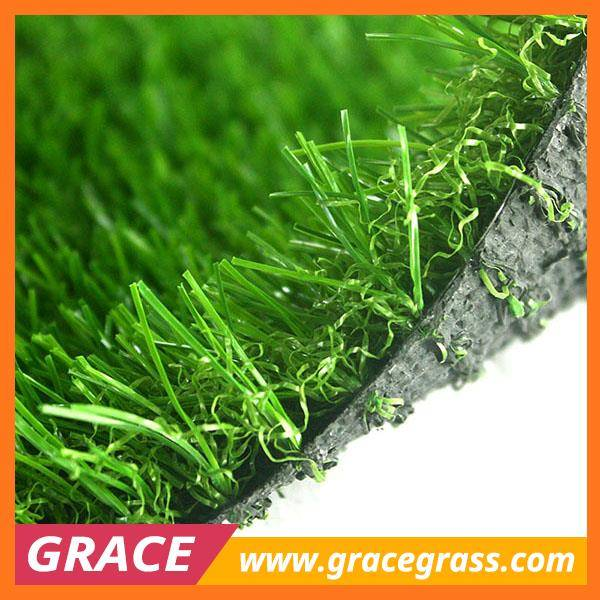 four tones garden soft fake grass for decoration