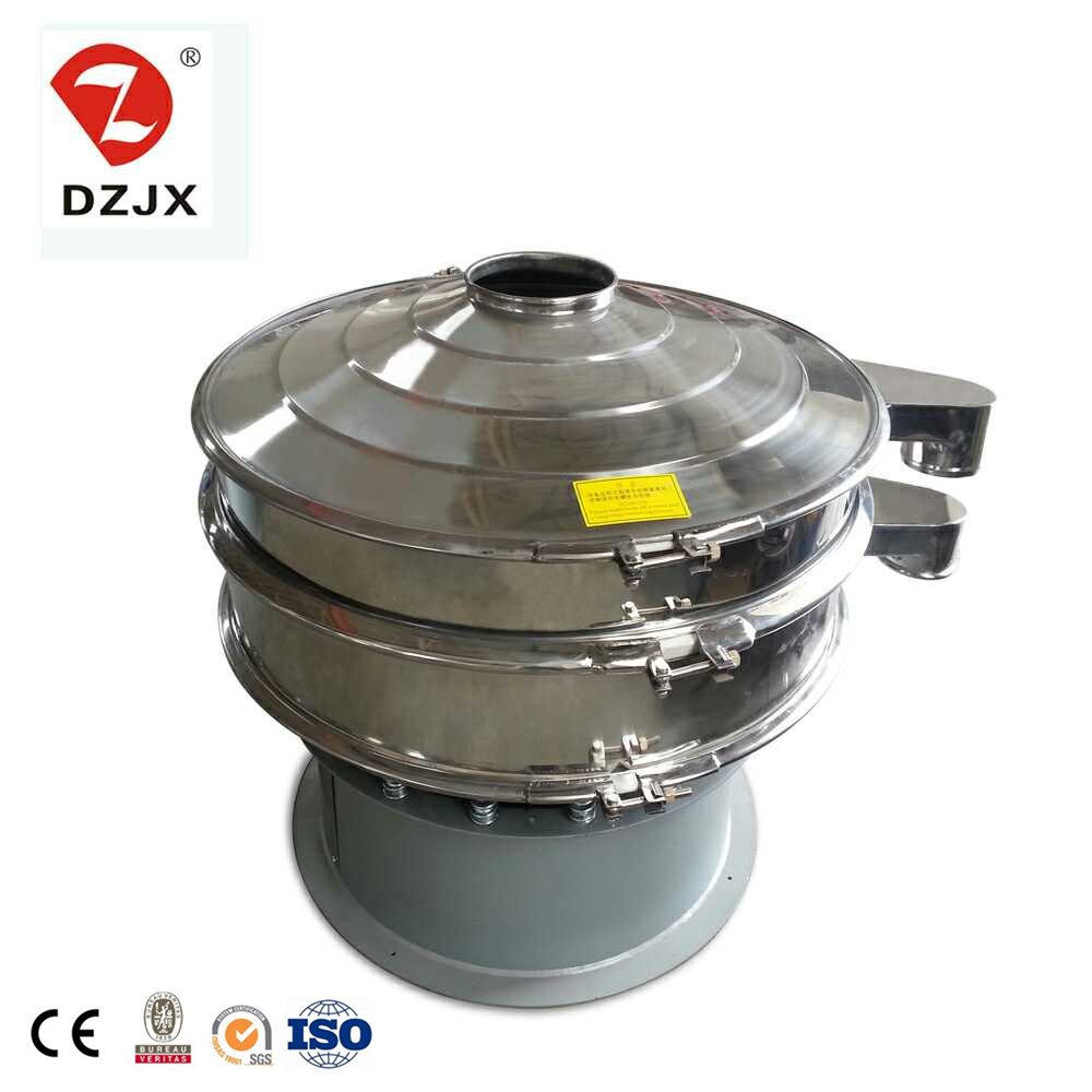 stainless steel peanut rice grain powder palm oil laboratory electric vibrating vibro sifter rotatio
