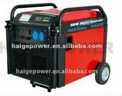 5kw super silent inverter generator set