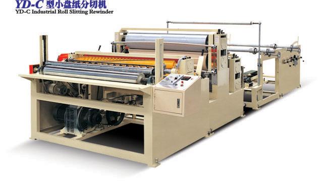 YD-C Industrial Roll Slitting Rewinder