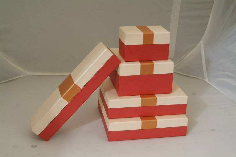 New design jewelry packaging paper boxes