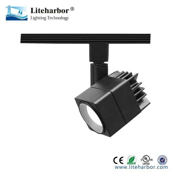 Square 15W LED Track Light