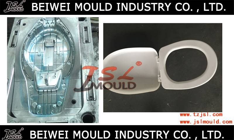 plastic injection toilet seat lid mould plastic toilet seat cover mold
