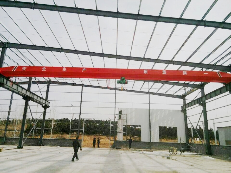 Low Headroom Single Girder Overhead Crane Manufacturer
