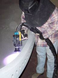 Zinc Arc Spraying Process