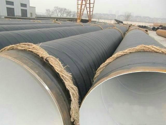 2PE coated direct buried steel pipe