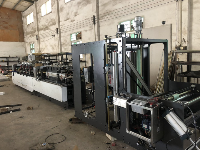 stand up pouch bag making machine