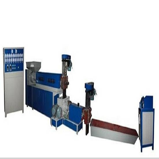 PE/PP/PA waste film recycling and pelletizing machine