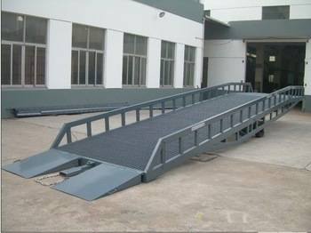High quality mobile container loading yard ramp for sale in CHINA