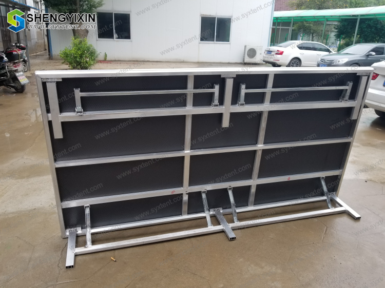 Portable Mobile Stage Platform in Truss Display Aluminum Stage Outdoor Used for