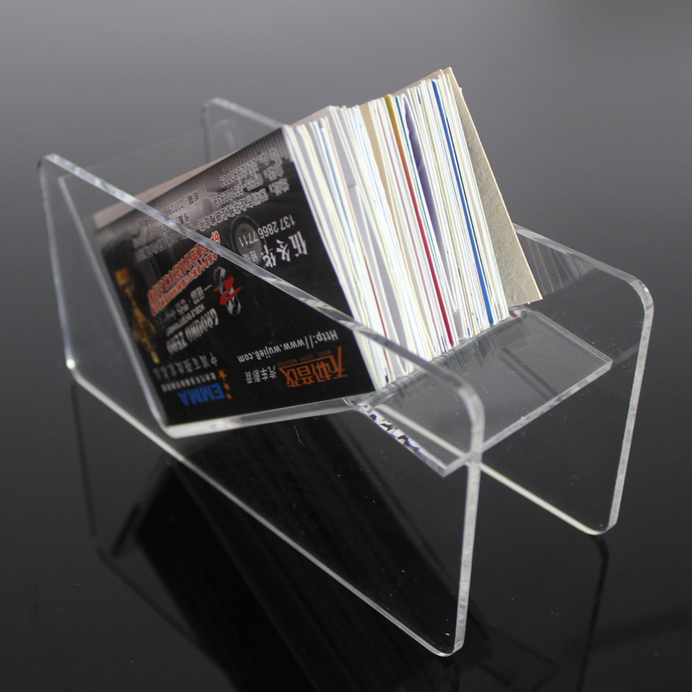 Manufacture wholesale cheap business card acrylic holder/stand display