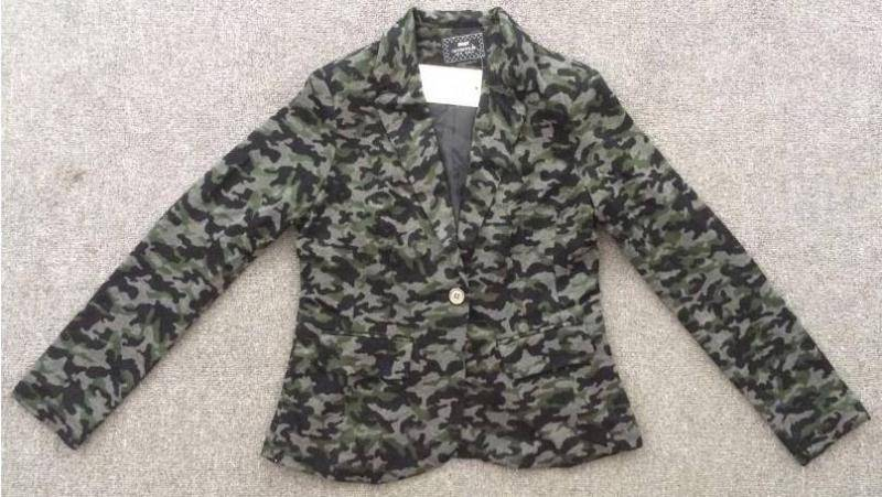 MAX branded stocklot available, 14,192pcs Ladies fashion casual blazer TC1-600