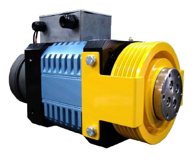 EDAM HM150 Elevator Gearless Traction Machine