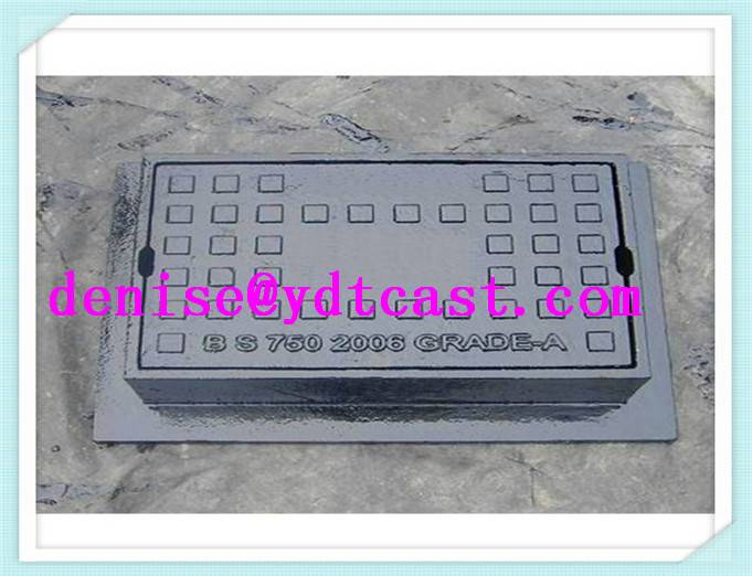 Ductile iron/casting iron120x150x160 EN124 GJS500-7 surface box