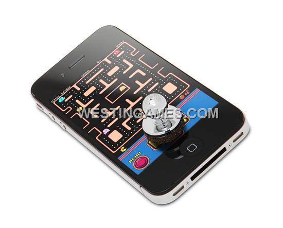 Game Controller Analog Metal Arcade Joystick for iPhone 4/iPod