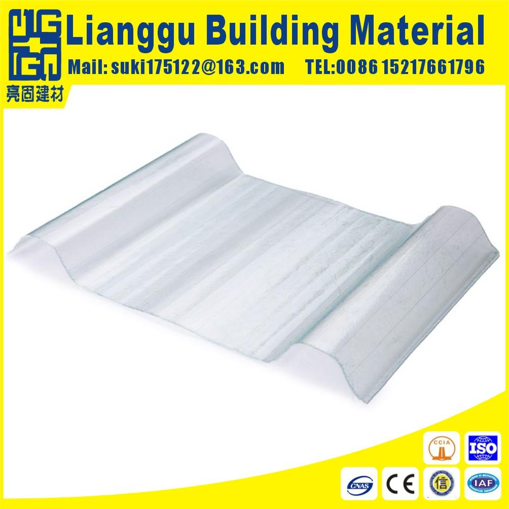 FRP fiber glass roof sheet for steel structure villa