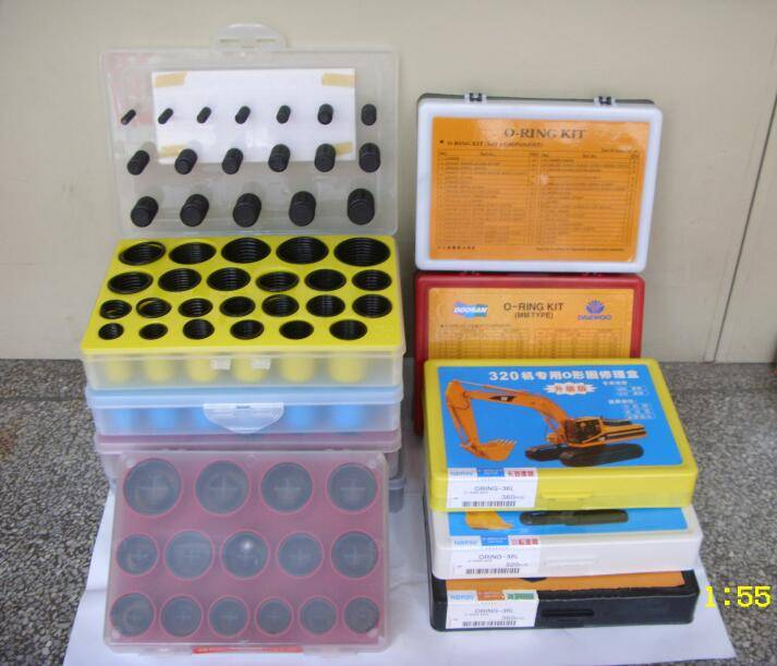 O Ring Box Excavator Repair Kit Mechanical Seal Kito