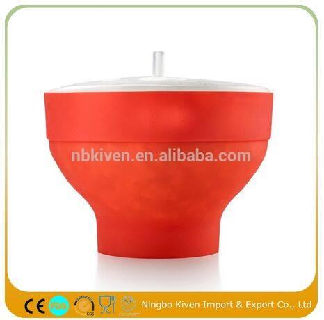 Microwave Silicone Popcorn Maker Popcorn Popper