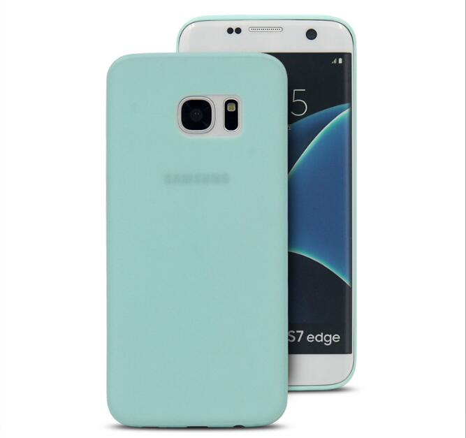 0.35mm Matte PP Case For Samsung Galaxy S7 Edge