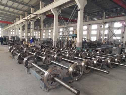 Pre-stressed Concrete Spun Pile Spinning Machine