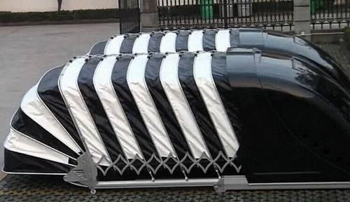Solar Powered Retractable Garage